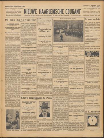 Nieuwe Haarlemsche Courant 1934-03-02