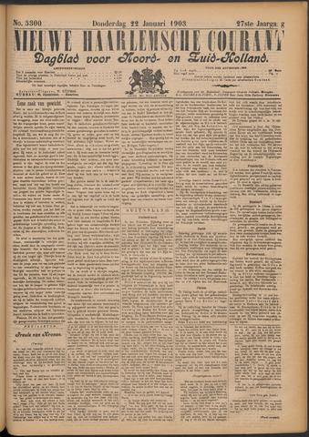 Nieuwe Haarlemsche Courant 1903-01-22