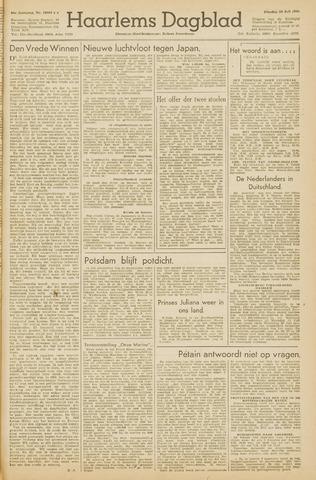 Haarlem's Dagblad 1945-07-24