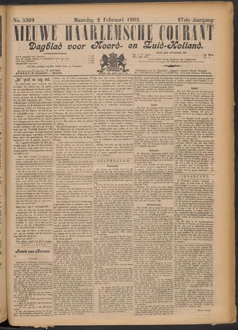 Nieuwe Haarlemsche Courant 1903-02-02