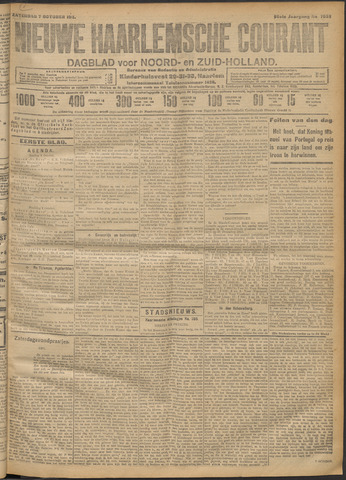 Nieuwe Haarlemsche Courant 1911-10-07