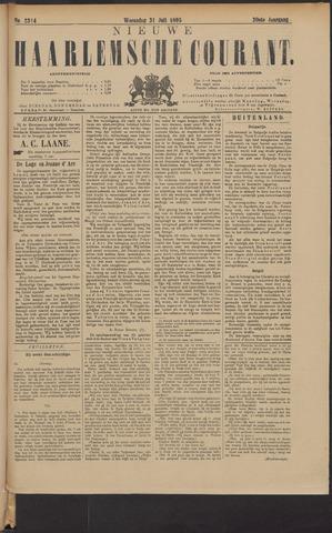 Nieuwe Haarlemsche Courant 1895-07-31