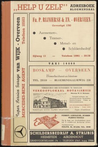 Adresboeken Bloemendaal 1955