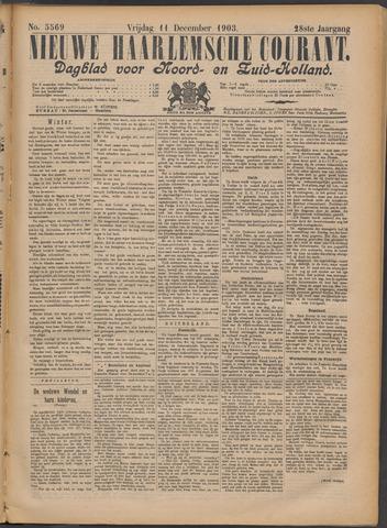 Nieuwe Haarlemsche Courant 1903-12-11