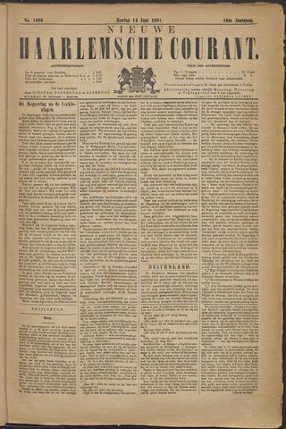 Nieuwe Haarlemsche Courant 1891-06-14