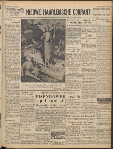 Nieuwe Haarlemsche Courant 1952-04-12