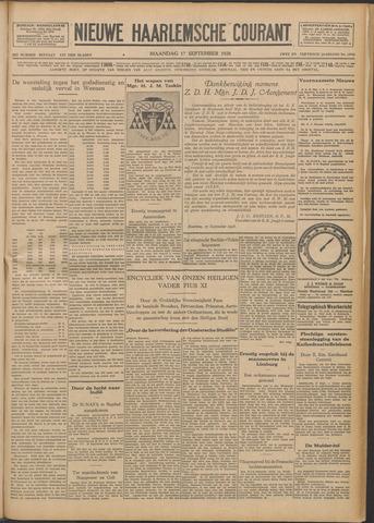 Nieuwe Haarlemsche Courant 1928-09-17
