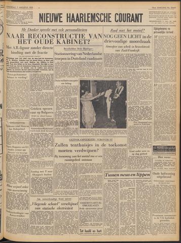 Nieuwe Haarlemsche Courant 1952-08-07