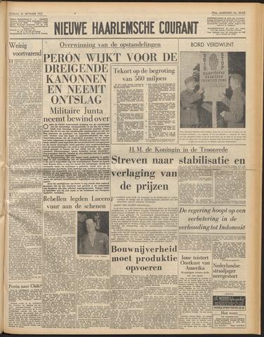 Nieuwe Haarlemsche Courant 1955-09-20