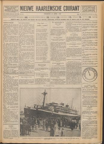 Nieuwe Haarlemsche Courant 1930-04-29