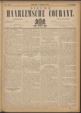 Nieuwe Haarlemsche Courant 1878-08-08