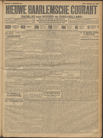 Nieuwe Haarlemsche Courant 1913-02-07