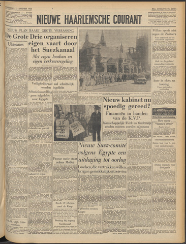 Nieuwe Haarlemsche Courant 1956-09-13