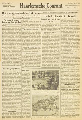 Haarlemsche Courant 1943-01-25