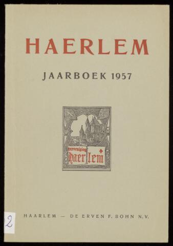 Jaarverslagen en Jaarboeken Vereniging Haerlem 1957