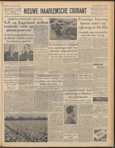 Nieuwe Haarlemsche Courant 1957-03-25