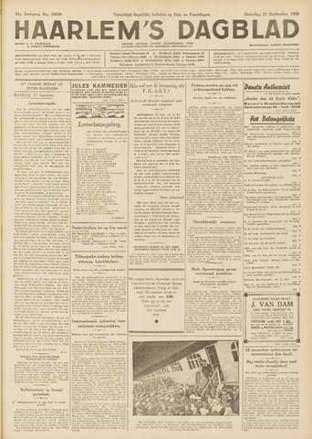 Haarlem's Dagblad 1935-09-21
