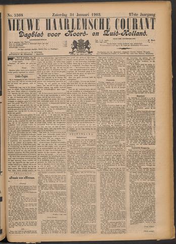 Nieuwe Haarlemsche Courant 1903-01-31