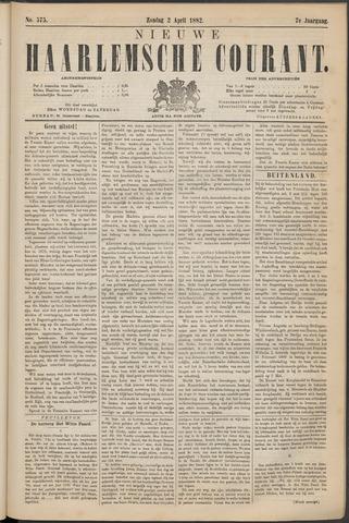 Nieuwe Haarlemsche Courant 1882-04-02