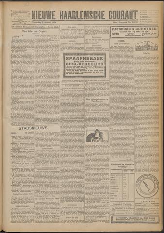 Nieuwe Haarlemsche Courant 1924-01-09