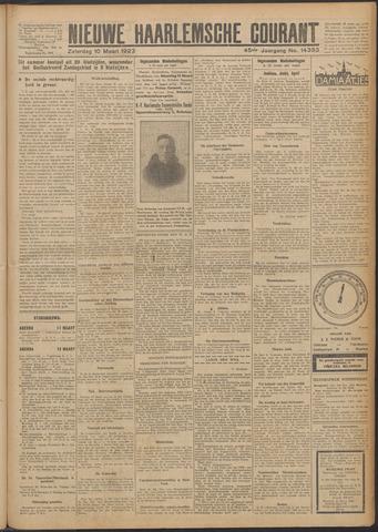 Nieuwe Haarlemsche Courant 1923-03-10
