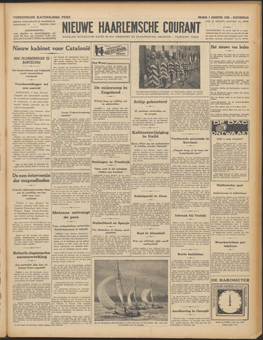 Nieuwe Haarlemsche Courant 1936-08-07