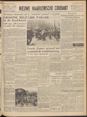 Nieuwe Haarlemsche Courant 1953-04-30