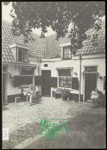 Jaarverslagen en Jaarboeken Vereniging Haerlem 1987