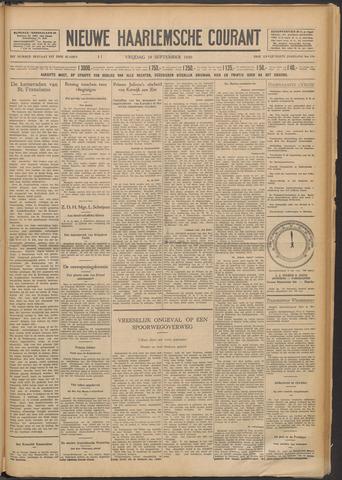 Nieuwe Haarlemsche Courant 1930-09-19