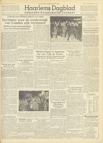 Haarlem's Dagblad 1954-09-20