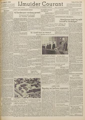 IJmuider Courant 1948-03-12