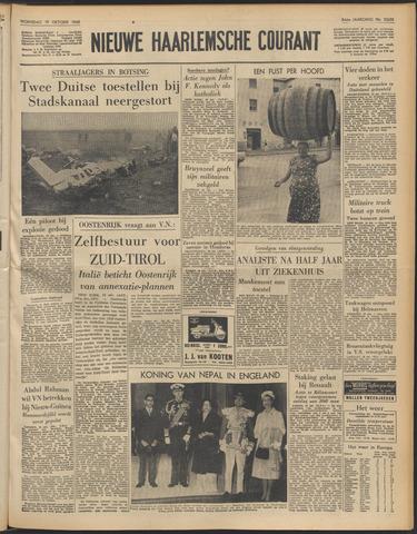 Nieuwe Haarlemsche Courant 1960-10-19