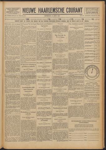 Nieuwe Haarlemsche Courant 1931-07-21