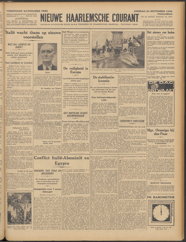 Nieuwe Haarlemsche Courant 1935-09-24