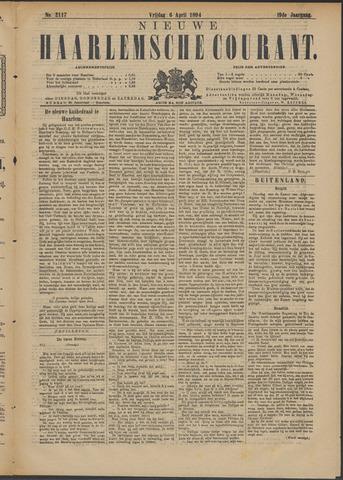 Nieuwe Haarlemsche Courant 1894-04-06