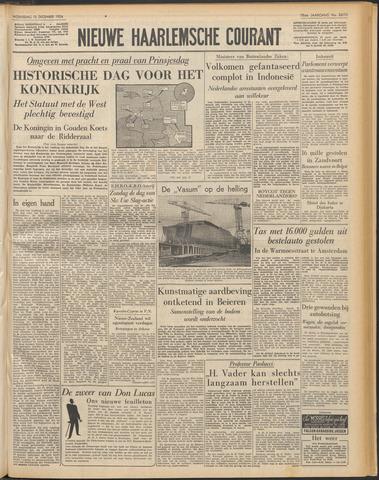 Nieuwe Haarlemsche Courant 1954-12-15