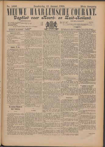Nieuwe Haarlemsche Courant 1904-01-21