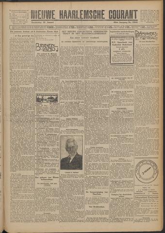 Nieuwe Haarlemsche Courant 1925-01-22