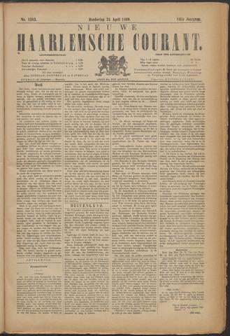 Nieuwe Haarlemsche Courant 1889-04-25