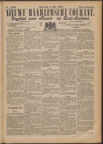 Nieuwe Haarlemsche Courant 1905-05-06