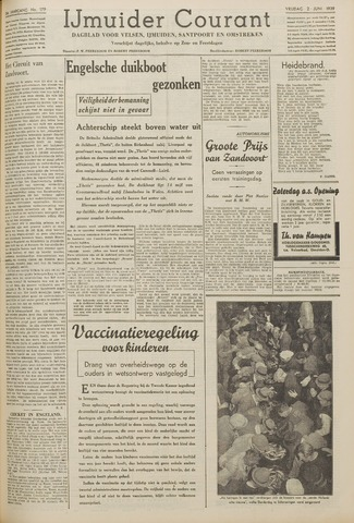 IJmuider Courant 1939-06-02