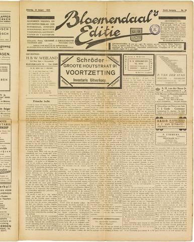 Bloemendaal's Editie 1929-01-12