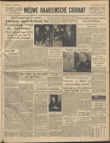 Nieuwe Haarlemsche Courant 1957-09-16