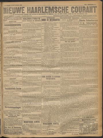Nieuwe Haarlemsche Courant 1918-09-14