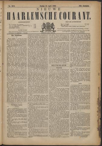 Nieuwe Haarlemsche Courant 1893-04-23