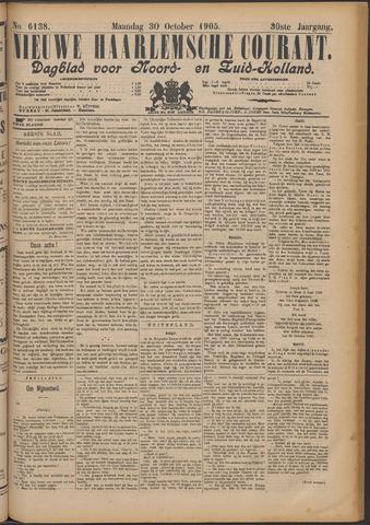 Nieuwe Haarlemsche Courant 1905-10-30