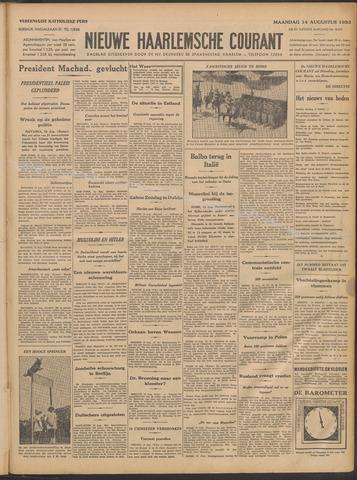 Nieuwe Haarlemsche Courant 1933-08-14