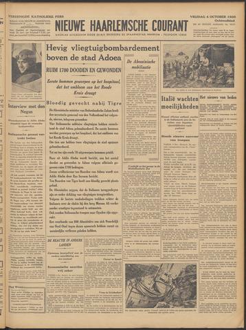 Nieuwe Haarlemsche Courant 1935-10-04