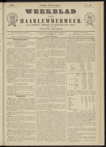 Weekblad van Haarlemmermeer 1877-11-23