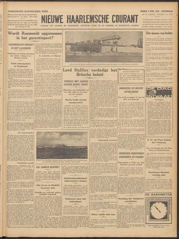 Nieuwe Haarlemsche Courant 1939-04-04